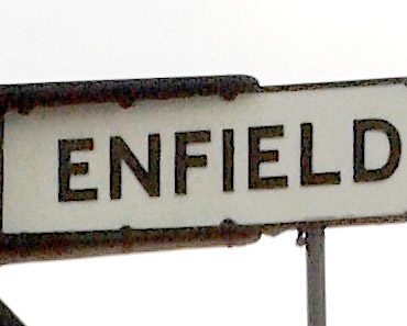 Enfield Sign