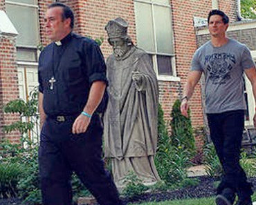 Father Jack Ashcraft and the Ghost Adventures Team