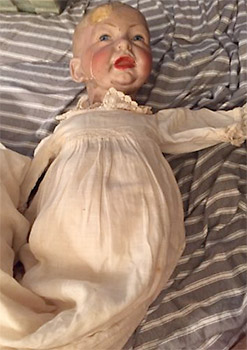 Haunted Bisque Doll