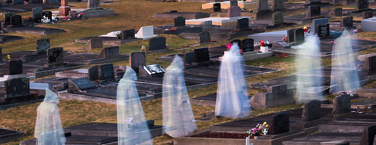 Ghosts in a Graveyard