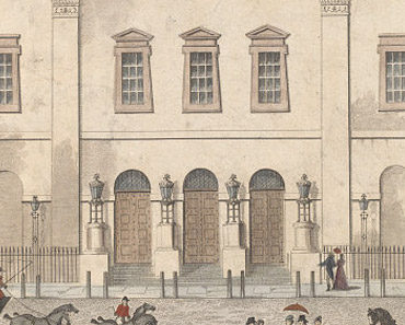 Old Print of the Theatre Royal Drury Lane