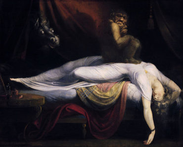Image courtesy of https://en.wikipedia.org/wiki/Sleep_paralysis#/media/File:John_Henry_Fuseli_-_The_Nightmare.JPG