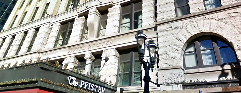 Pfister Hotel, Milwaukee