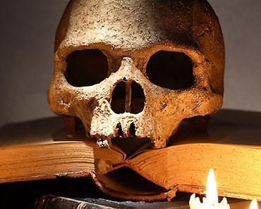 Satanism Skull