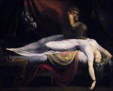 Image courtesy of https://en.wikipedia.org/wiki/Sleep_paralysis#/media/File:John_Henry_Fuseli_-_The_Nightmare.JPG